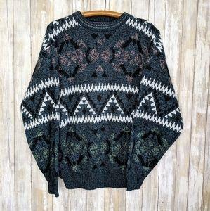Vintage Sweater Michael Gerald Large